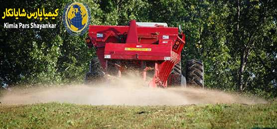 مصرف گچ کشاورزی