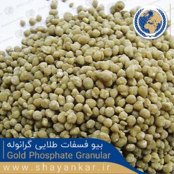 بیو فسفات طلایی گرانوله Gold Phosphate Granular