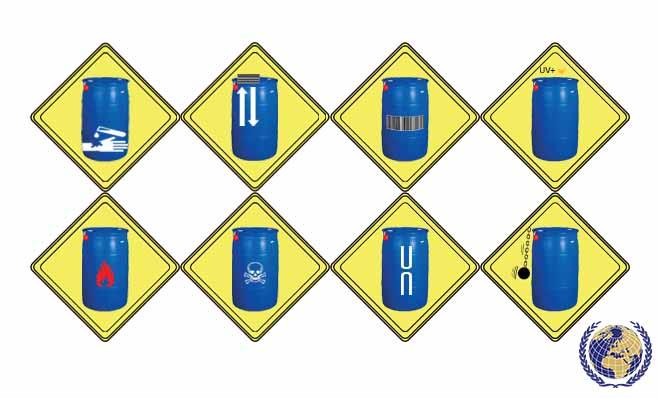 بشکه مناسب مواد شیمیایی